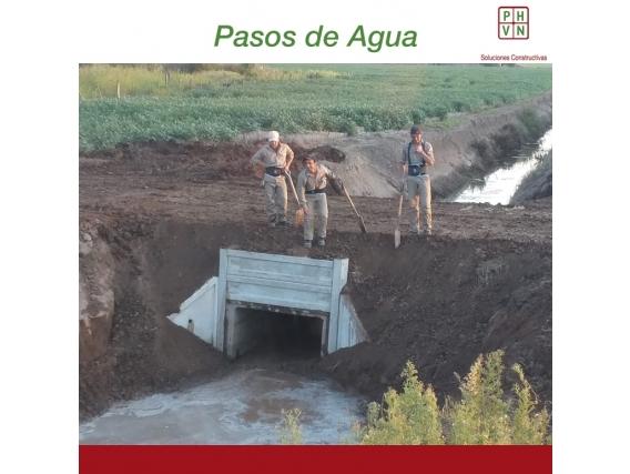 Paso De Agua 8 Mts - Alcantarillas Rectang 1,50 X 1,50