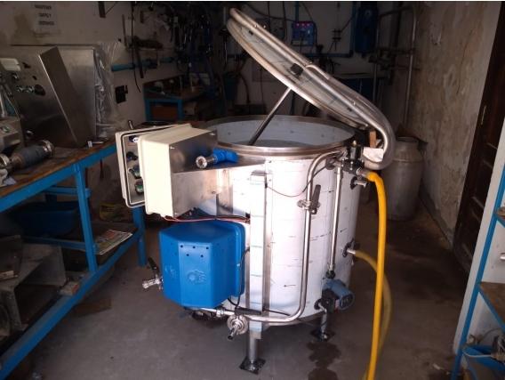 Pasteurizador Vat 250 Lts