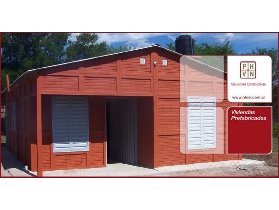 Vivienda Industrializada De 1 Dormitorio - Phvn Srl -