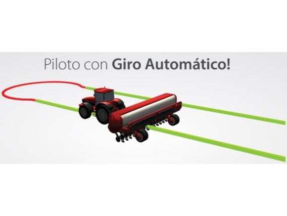 Piloto Automático Plantium Giro Automático En Cabece