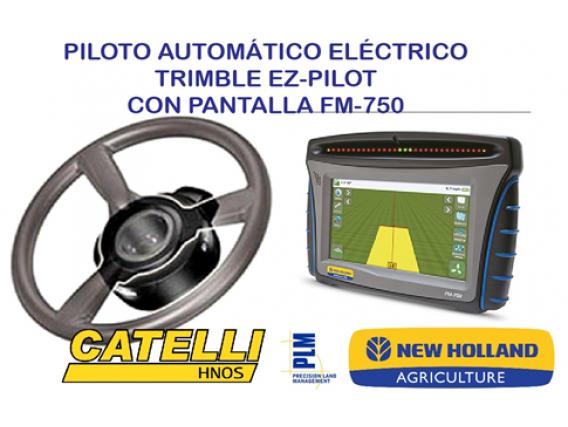 Piloto Automático Trimble EZ-Pilot con pantalla FM-750