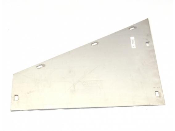 Piso Entrada Rotor Ac. Inox Para Cosechadora John Deere
