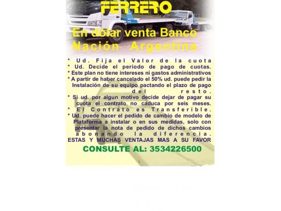 """Plan De Ahorro En Dólares """"ferrero"""""""