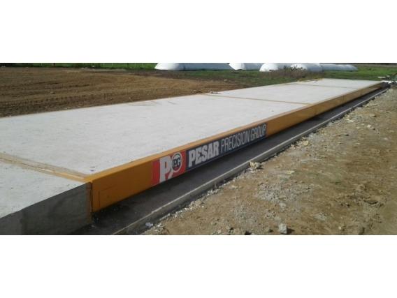 Báscula Para Camiones Electrónica 20X3 Mts - Pesar