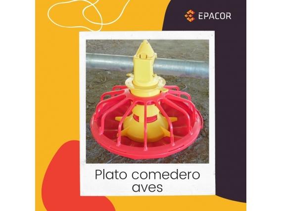 Plato Comedero Avicola Devak
