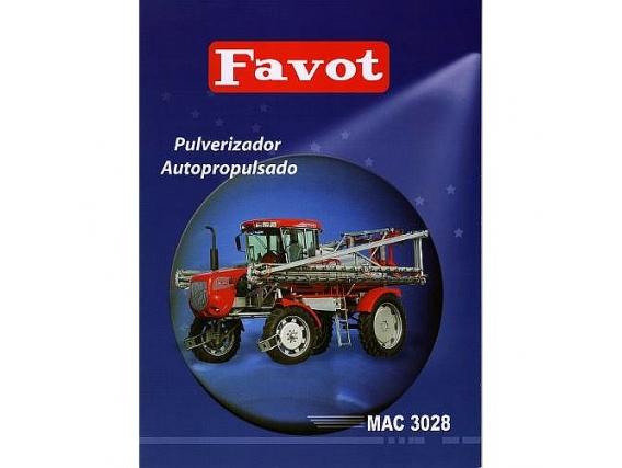 Pulverizador Favot MAC 3028