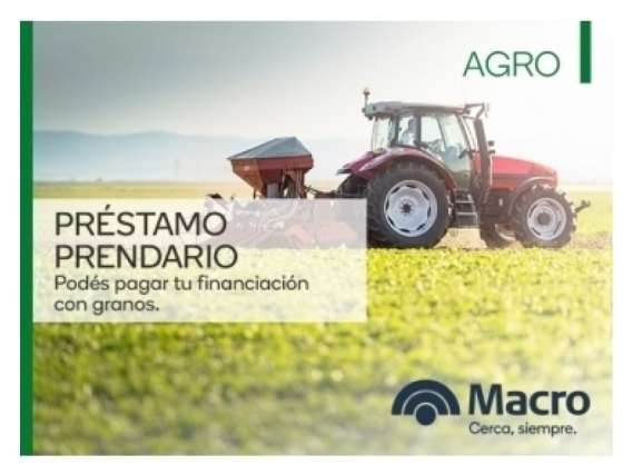 Préstamo Prendario - Dye Agricultura De Precision. Plazo: 36 meses