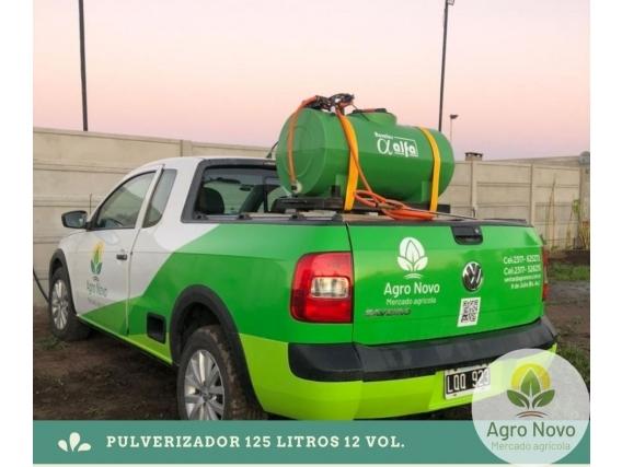 Pulverizador Rurales Alfa 12 Vol 125 Litros