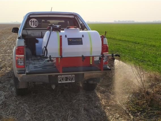 Pulverizador Fumigador Para Pick-Up