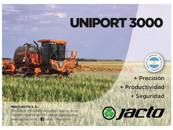 Pulverizadora Autopropulsada Jacto Uniport 3000