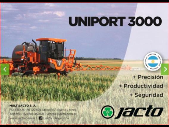 Pulverizadora Jacto Uniport 3000