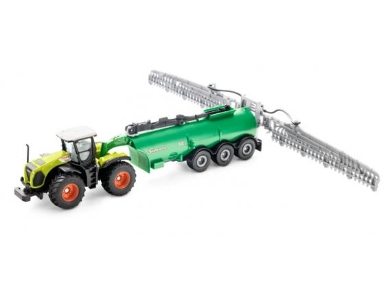 Réplica CLAAS Xerion con Fertilizadora - 1:87