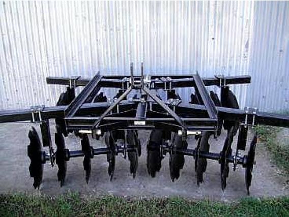 Rastra De 20 Discos Dentado Para 3 Puntos De Tractor