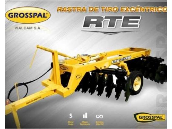 Rastra Grosspal Rte 32.000 De Tiro Excéntrico