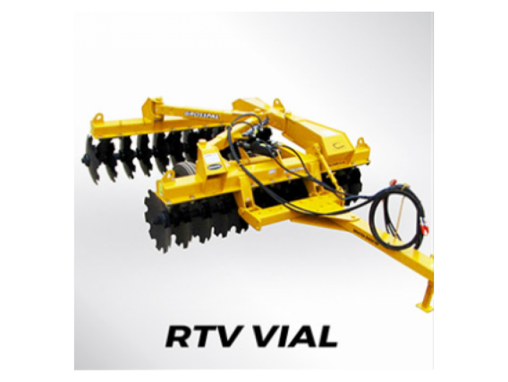 Rastra Tiro Excéntrico Vial Grosspal Rtv 28.000
