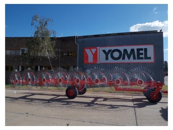 Rastrilllo En V Yomel Rv 15 - Vedia, Bs Aires
