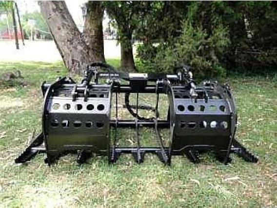 Garra Hidráulica De Poda Para Minicargadora O Tractor