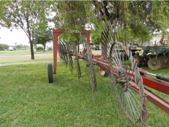 Rastrillo Lateral 7 Estrellas Rural