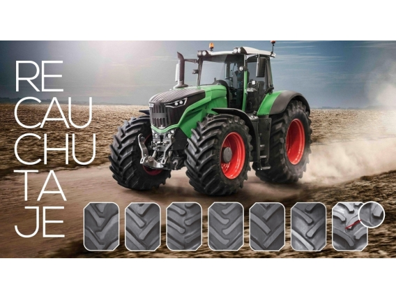 Reconstrucción De Neumáticos Agrícolas