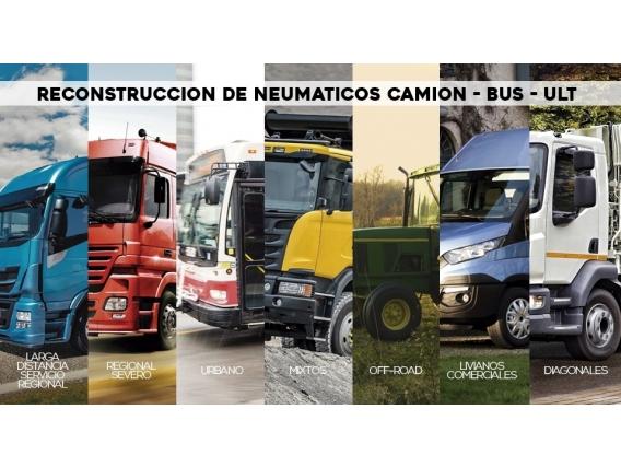 Reconstrucción De Neumáticos Camion - Bus - Ult