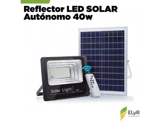 Reflector Led Solar Autónomo 40W