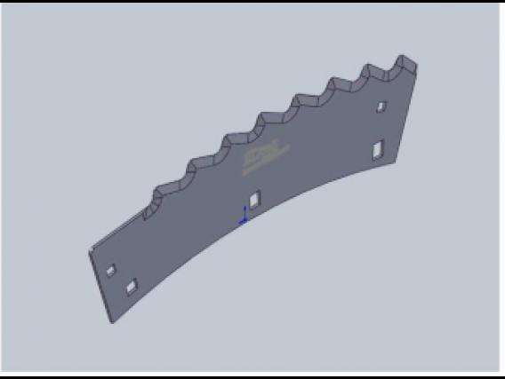 Repuesto Para Cabezal Blade Cuchilla Derecha