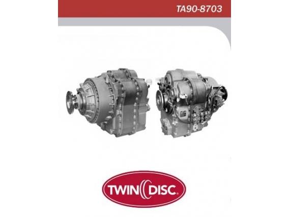 Repuesto De Transmisión Twin Disc Ta90-8703