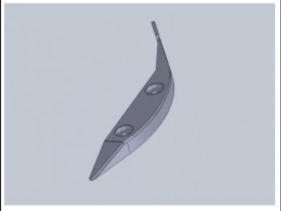 Repuesto Para Cabezal Blade Postizo Guía Central