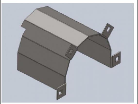 Repuesto Para Cabezal Blade Protector Cardan Izquierda