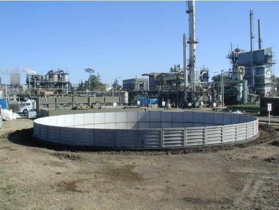 Reserv Ind Sola Hidrotecnología Construcción 160000 Lts