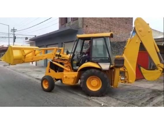 Retro Pala Jcb 214 4X2 Año 2006 Refaccionada