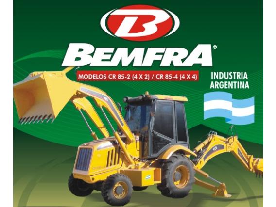 Retroexcavadora Bemfra Cr 85-4