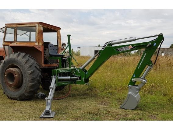 Retroexcavadora Borda Bossana Para Tractor