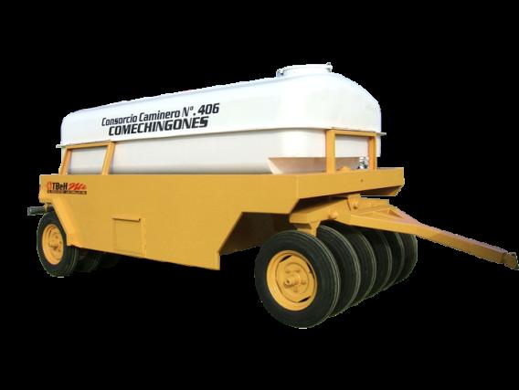 Rodillo Compactador Neumático Tbeh Ran 9R