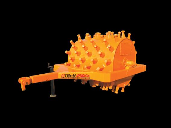 Rodillo Compactador Pata De Cabra Tbeh Ras 1500
