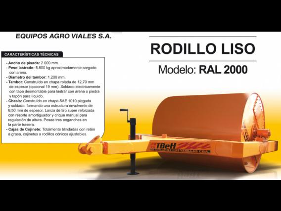 Rodillo Liso Tbeh Ral 2000