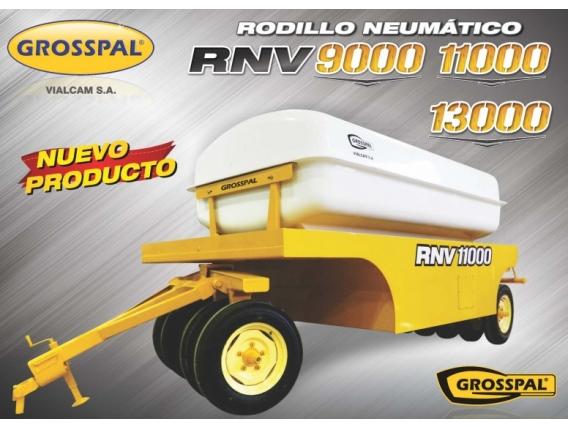 Rodillo Neumático Grosspal Rnv 11000