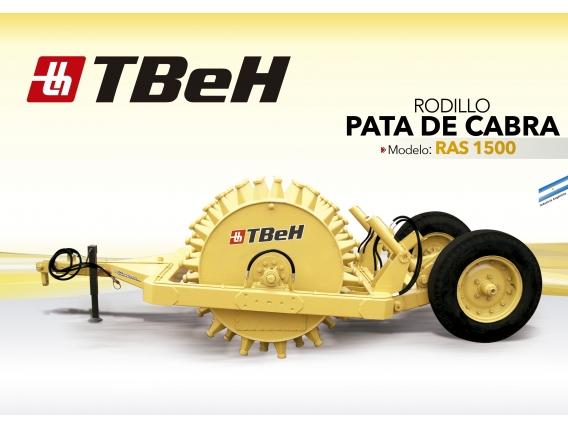 Rodillo Pata De Cabra Tbeh Ras 1500
