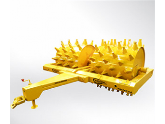 Rolo Compactador Pata De Cabra Grosspal Rcv