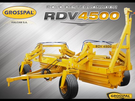 Rolo Grosspal Desterronador Rdv 45000