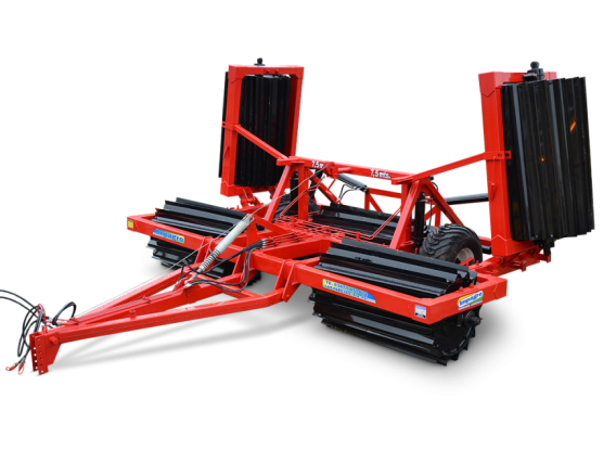 Rolo triturador de rastrojo Impagro 7,5 mts.
