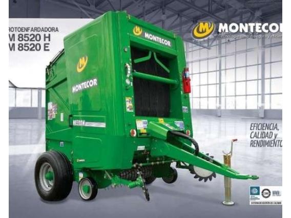 Rotoenfardadora Montecor M 8520 H