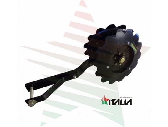 Rueda Tapadora Doble Distribuidora Italia - Sembradoras