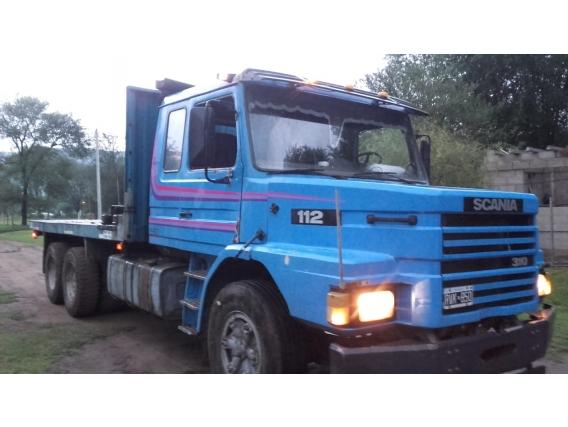 Scania 112, 6X4, Caja Playa