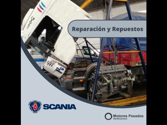 Scania - Reparación, Servicio Y Repuestos De Motor