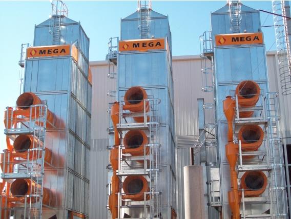 Secadora De Granos Mega St0400B