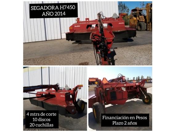 Segadora New Holland H7450