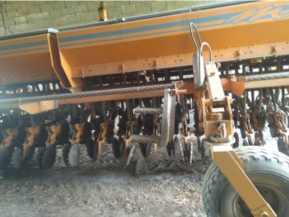 Sembradora Agrometal Sin Fertilizante
