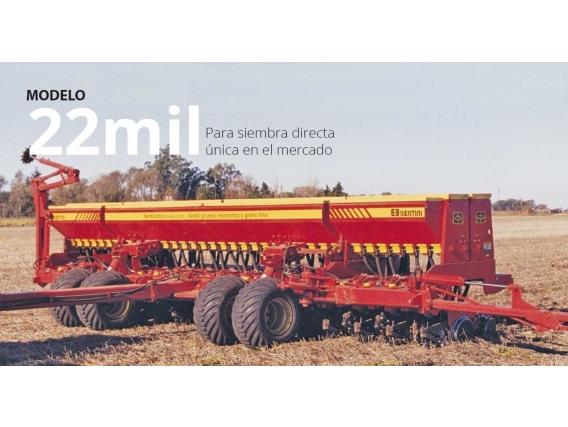Sembradora Bertini 22Mil