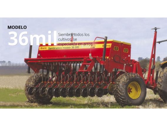 Sembradora Bertini Modelo 36000